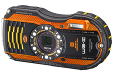 Pentax Optio WG3 waterproof camera