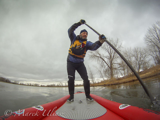 Badfish SUP on Beaver Pond