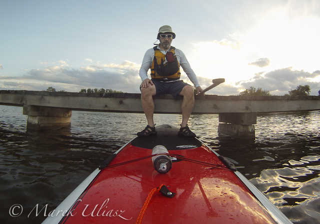 SUP in Riverbend Ponds Natural Area
