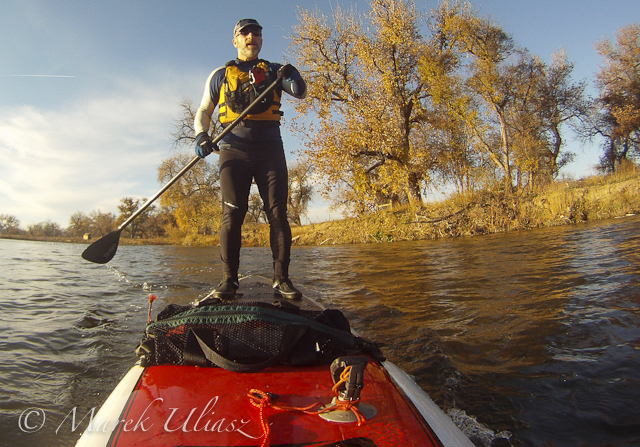 SUP on South Platte River