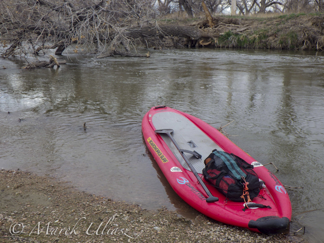 Badfish SUP on South Platte River