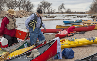 lunch break on South Platte River