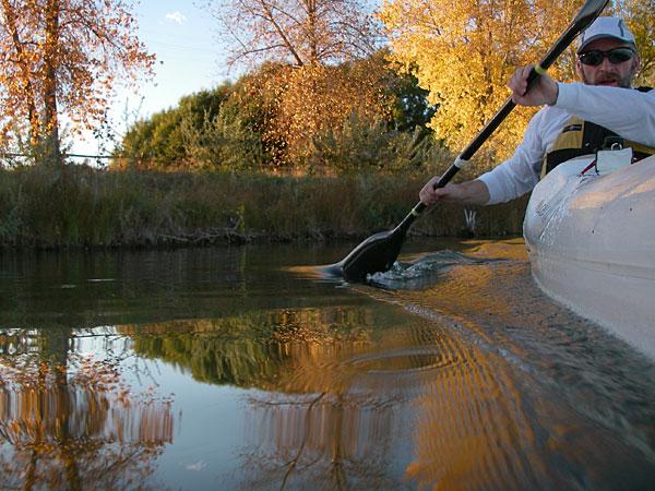 Colorado paddling - October