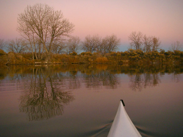 Colorado paddling - November
