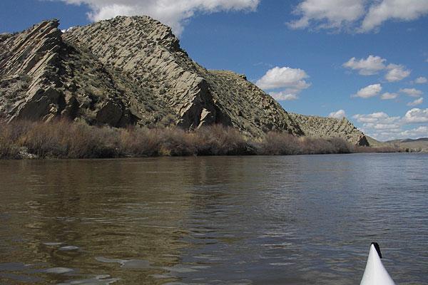 North Platte River above Seminoe Reservoir in Wyoming
