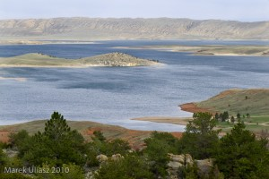 Seminoe Reservoir in Wyoming