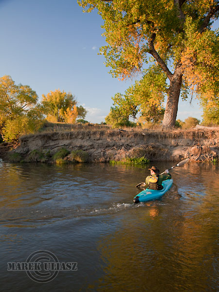paddling St Vrain Creek