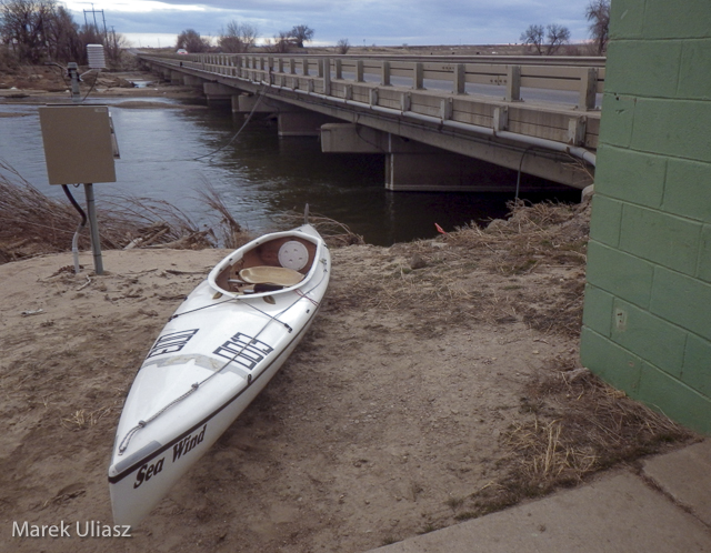 paddling South Platte River