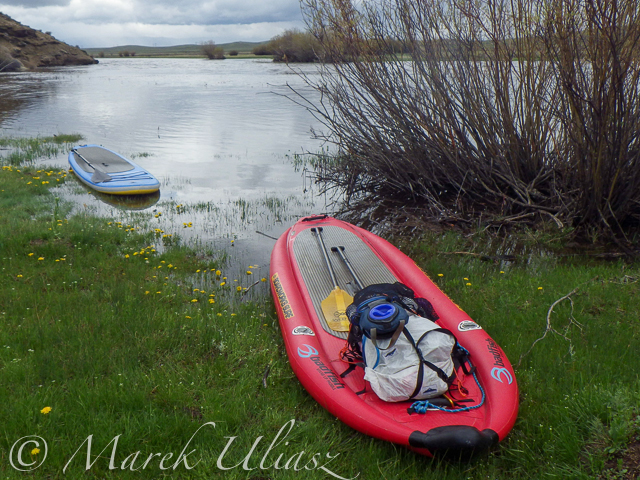 Exploring the Upper North Platte River in Colorado by SUP
