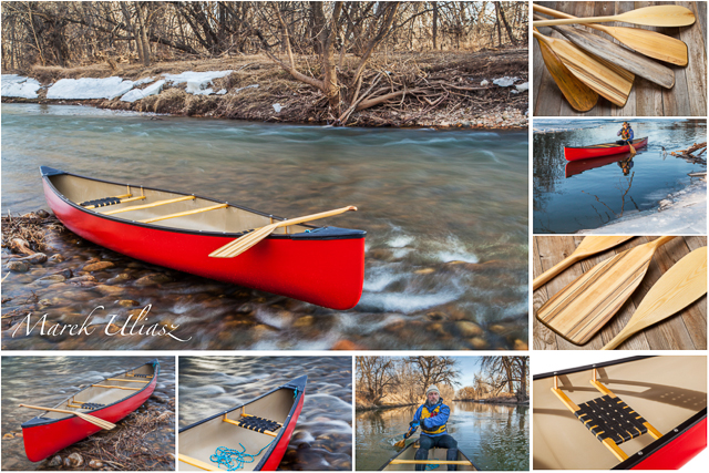 Boat Portrait – Penobscot 16 Canoe from Old Town Canoes