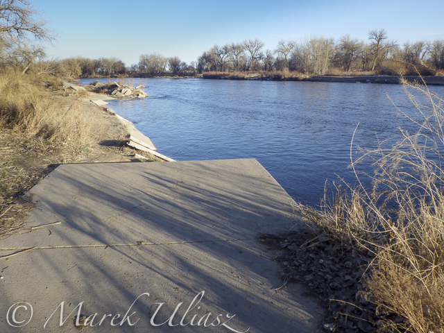 Bike trail destroyed by South Platte River flooding