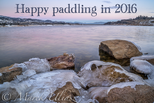 Happy Paddling in 2016 New Year!