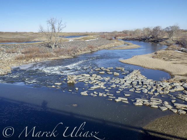 St Vrain Creek below I-25