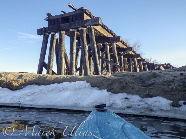 Winter Kayaking on the Lower St Vrain Creek
