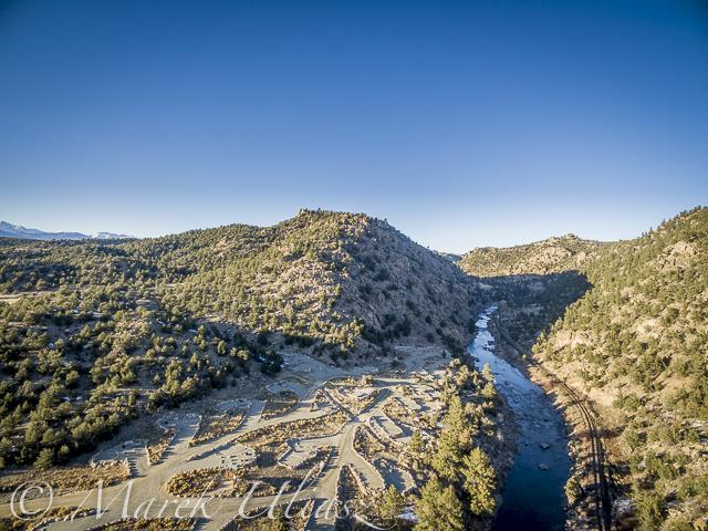 Arkansas River at Heckla Junction