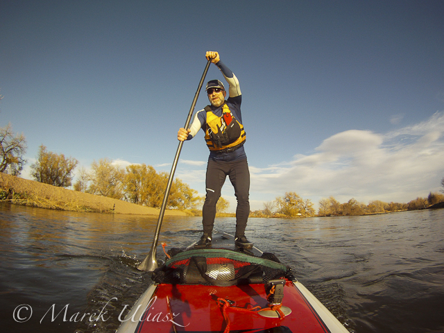 Stand Up Paddling the South Platte River below Denver