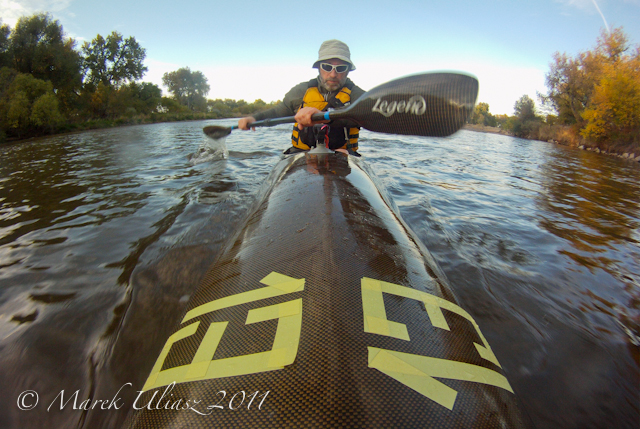 3 Winter Paddling Hours on the South Platte River